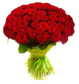 101 роза с доставкой по Ростову-на-Дону