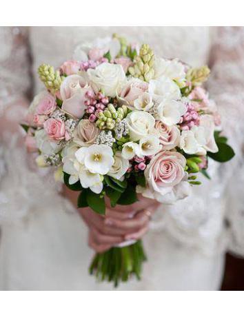 Свадебный букет Весенний мир