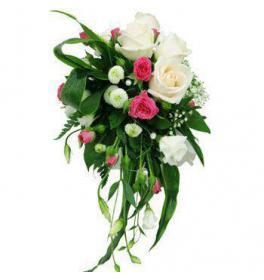 Свадебный букет Фламинго