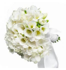 Свадебный букет Ласковый жемчуг