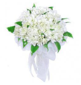 Свадебный букет Белый танец