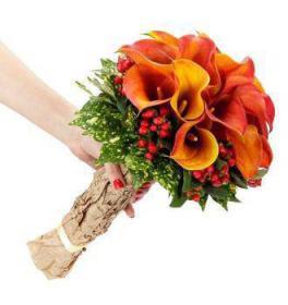 Свадебный букет Волшебный день