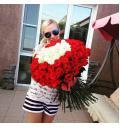 Признание - букет из 151 розы
